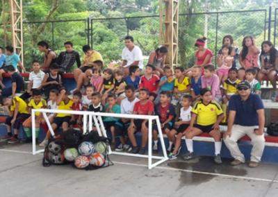 II Jornada deportiva Colombia