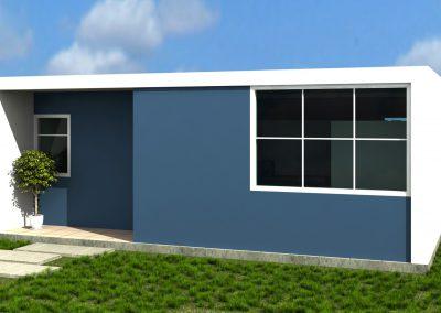 vivienda economica 3D